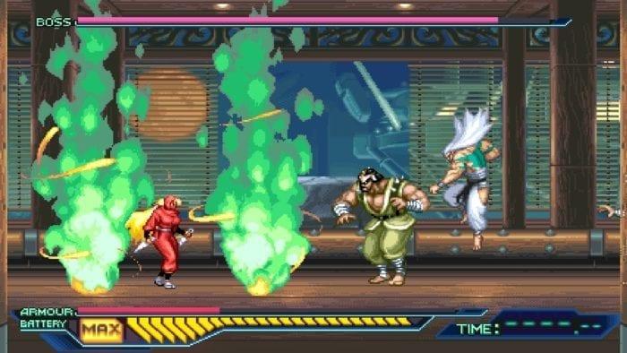 Boss Fight Ninja Saviors