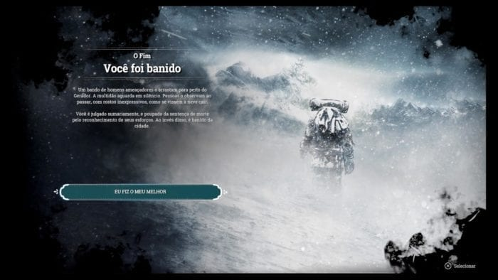 Frostpunk game over