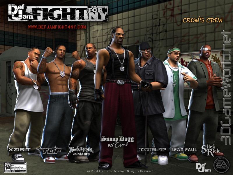 PlayStation 2 Def Jam