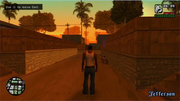 PlayStation 2 San Andreas