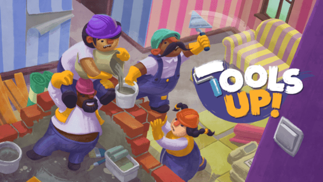 Tools Up Title Screen