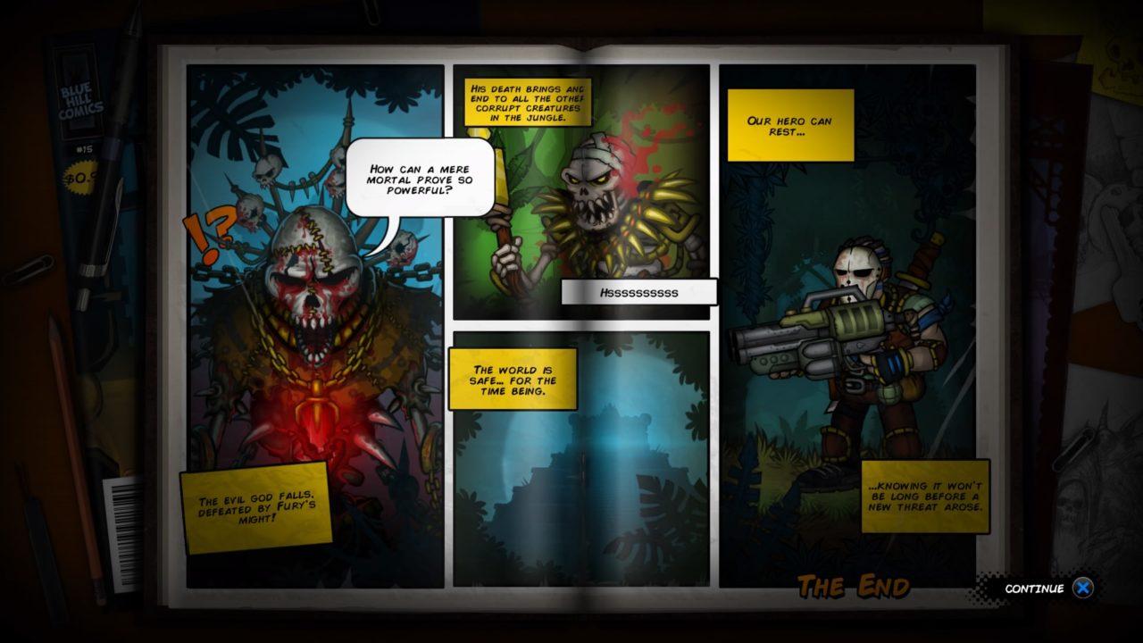 Fury Unleashed Revista