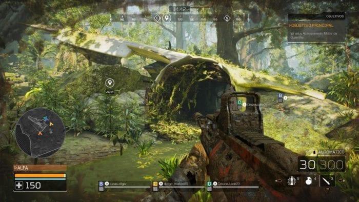 Predator: Hunting Grounds environment
