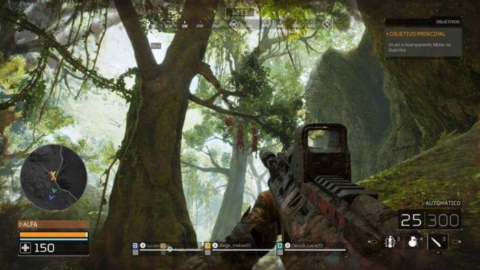 Predator Hunting Grounds Trees