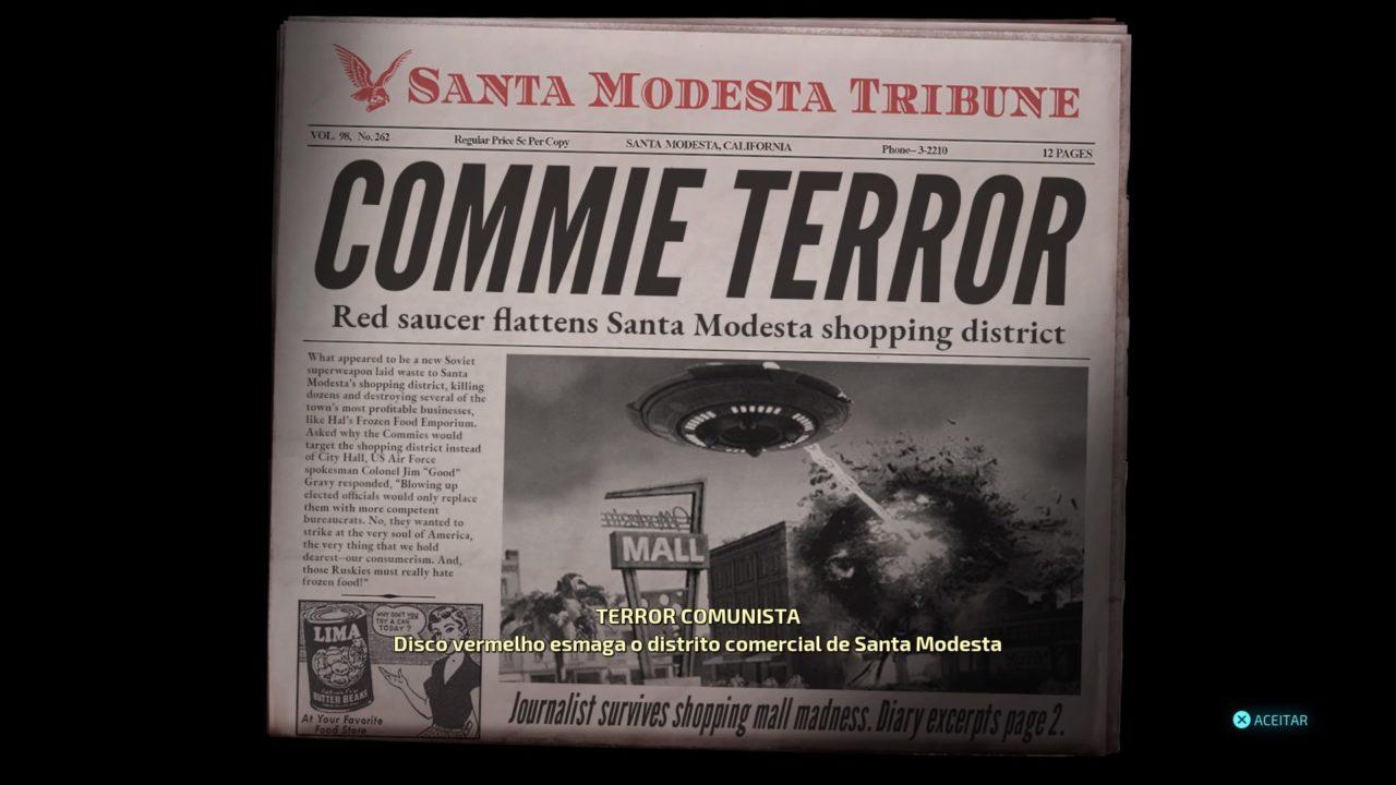 Destroy All Humans! Jornal