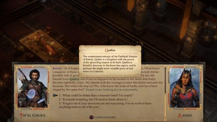Pathfinder Kingmaker Glossary