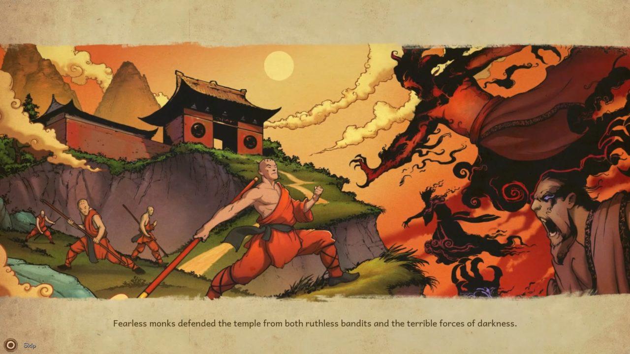 9 Monkeys of Shaolin cutscene