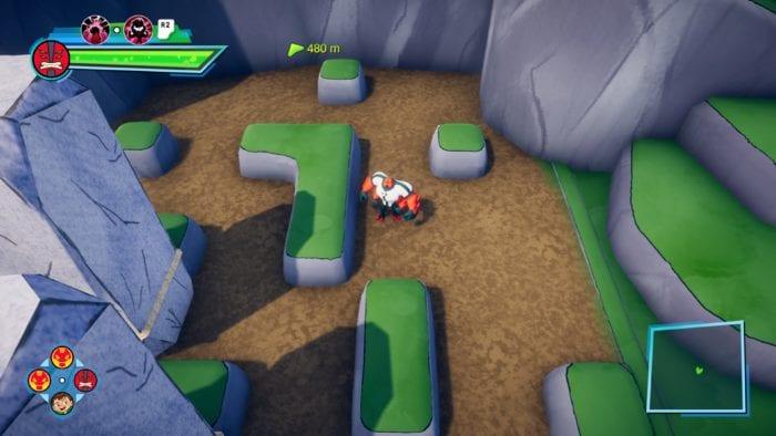 Ben 10: Power Trip 4 arms