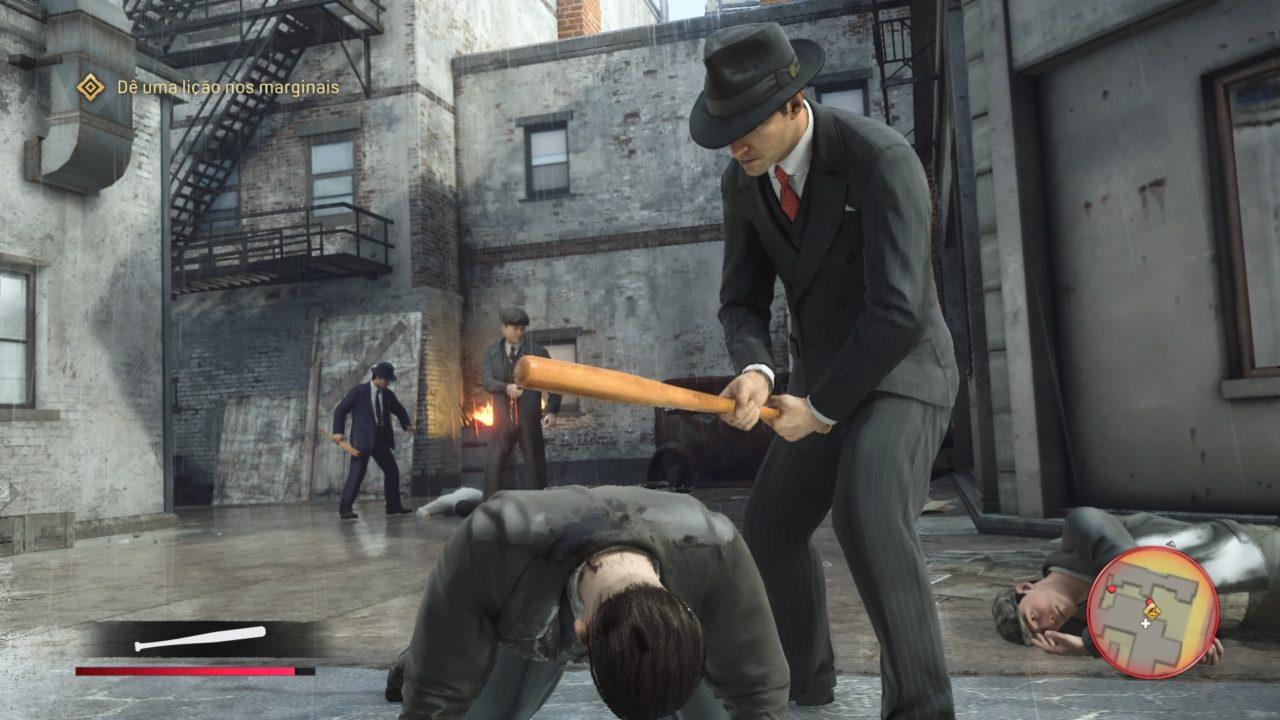 Mafia: Definitive Edition corpo a corpo