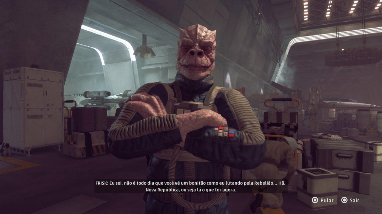 Star Wars: Squadrons Frisk