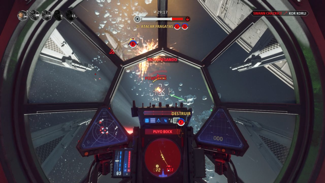 Star Wars: Squadrons TIE Fighter