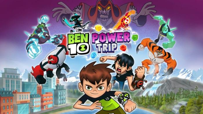 Ben 10 Power Trip - Title