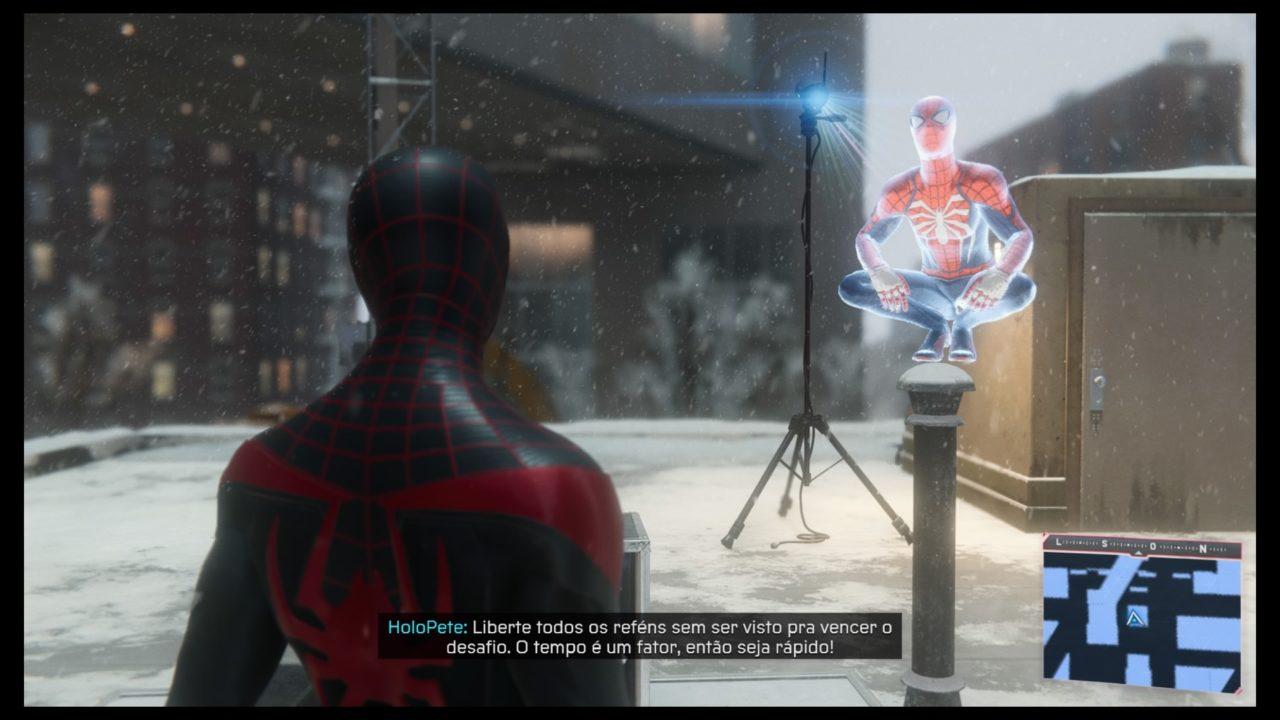 Spider-Man: Miles Morales hologramas