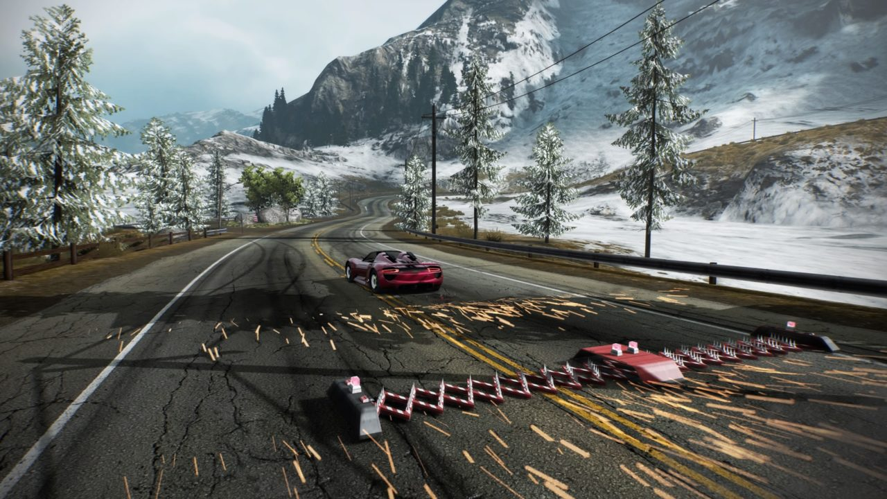 Need for Speed: Hot Pursuit Remastered - Tira de pregos