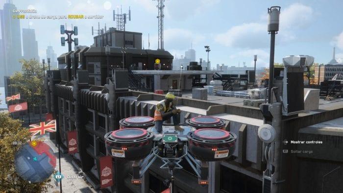 Watch Dogs legion cargo drone