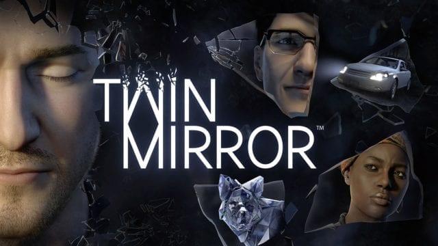 Twin Mirror arte da capa