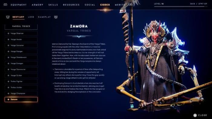 Zamora, uma das chefes de fase