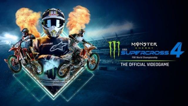 Monster Energy Supercross 4 header
