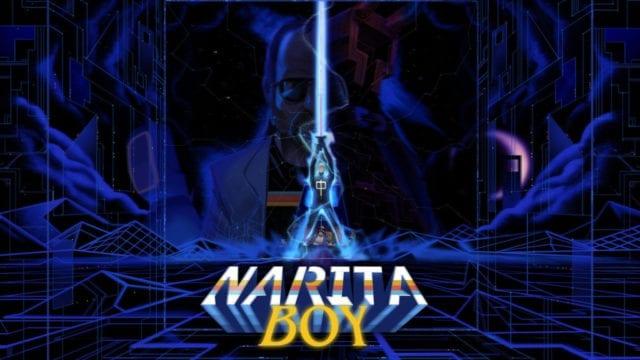tela título do jogo Narita Boy