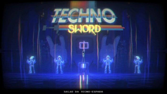 Narita Boy recebe a techno sword