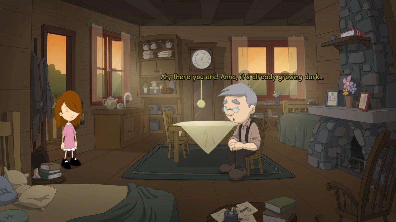 Anna's Quest Avô