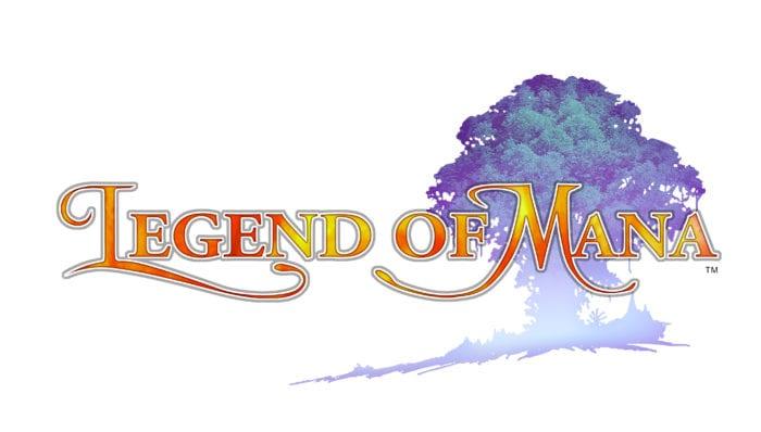 Logo do jogo Legend Of Mana