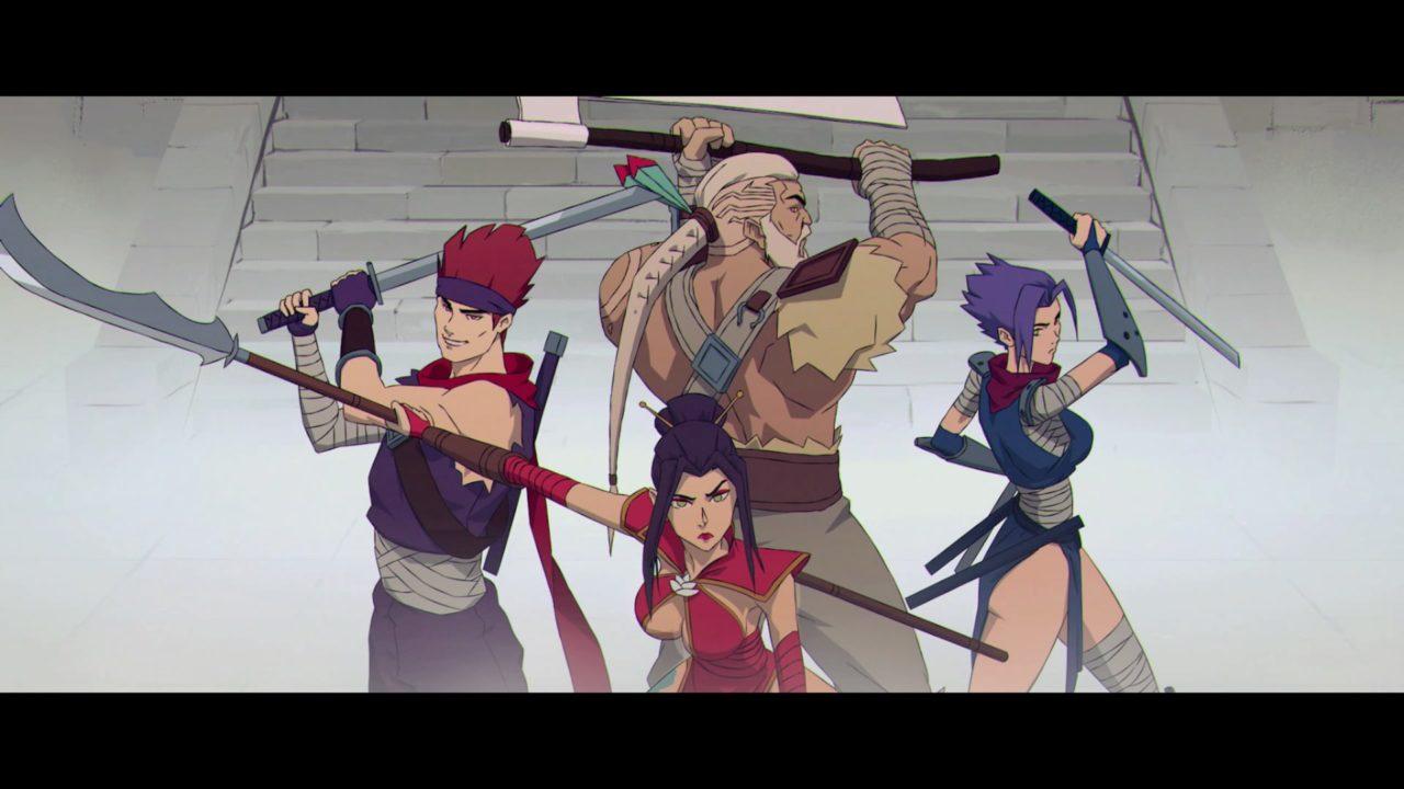 Versão anime dos personagens