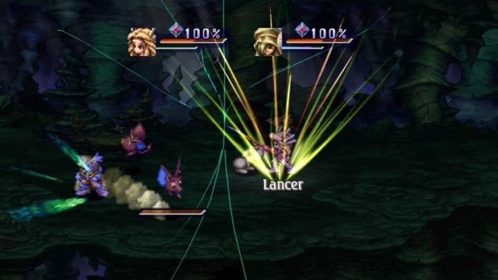 Golpe especial em Legend of Mana