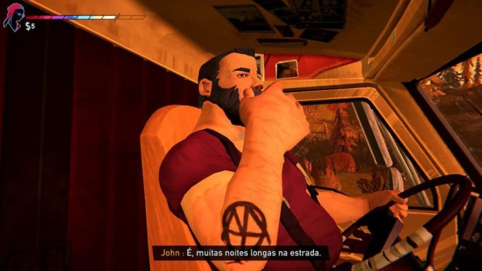 Foto do caminhoneiro John