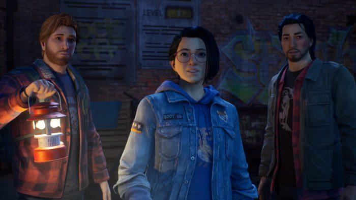 Personagens Ryan, Alex e Gabe