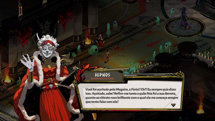 Hipnos conversa com Zagreu