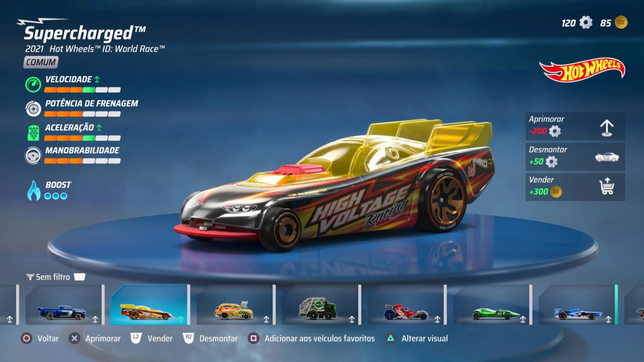 Hot Wheels Supercharged